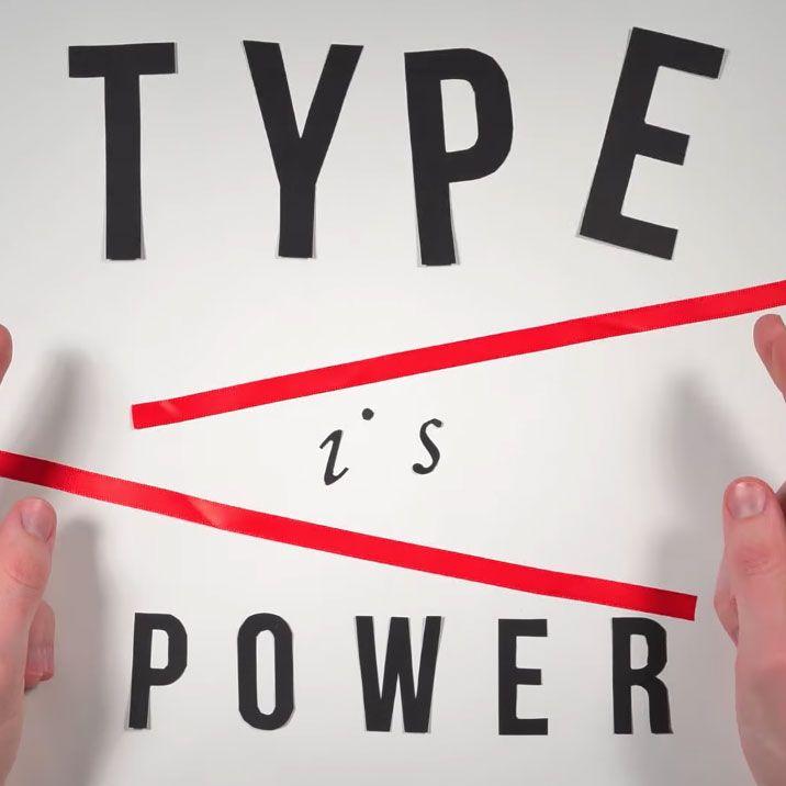 La Historia de la Tipografía en 2.454 fotogramas