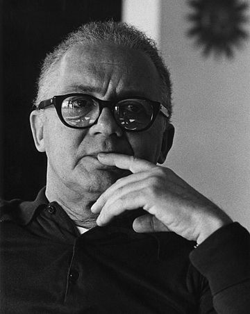Paul Rand thinking about it